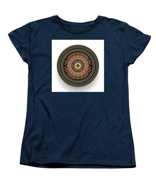 Circularium No 2645 Women's T-Shirt (Standard Cut) by Alan Bennington