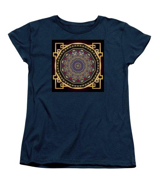 Circularium No 2651 Women's T-Shirt (Standard Cut) by Alan Bennington