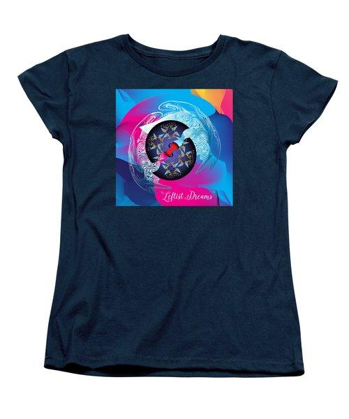 Circularium No 2719 Women's T-Shirt (Standard Cut) by Alan Bennington