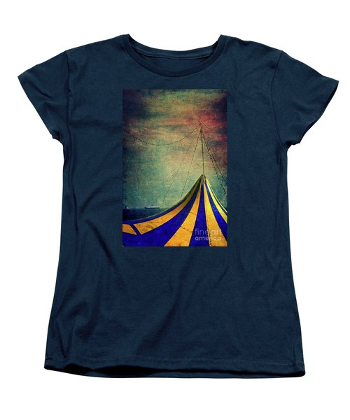 Circus With Distant Ships II Women's T-Shirt (Standard Cut)