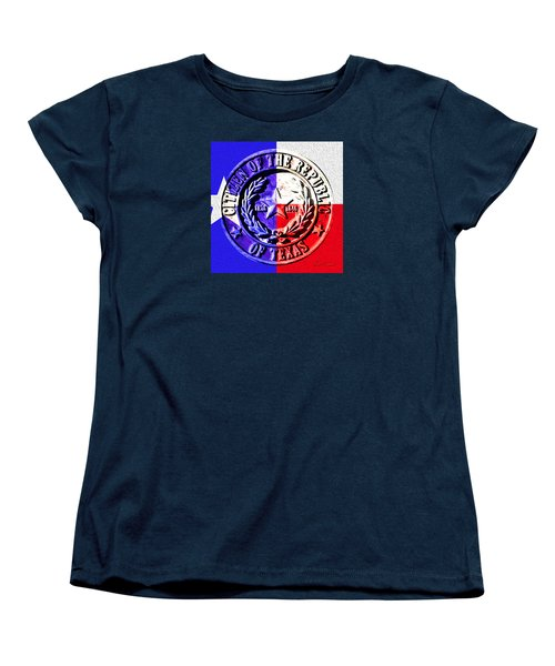 Citizen Of The Republic Of Texas Women's T-Shirt (Standard Cut) by Robert J Sadler