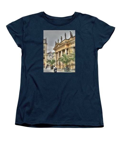 Karlovy Vary Chehia Women's T-Shirt (Standard Cut) by Yury Bashkin