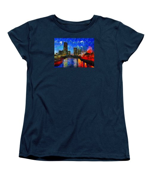 City Living - Tokyo - Skyline Women's T-Shirt (Standard Cut)