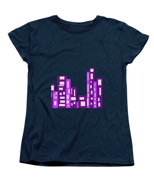 City Night Women's T-Shirt (Standard Cut) by Joy Watson