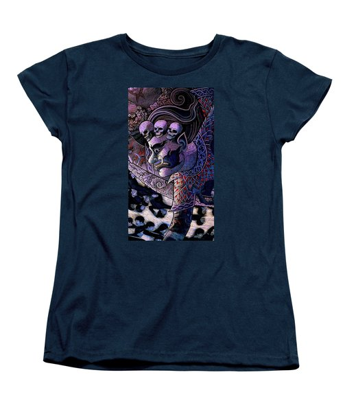 Claiming Lost Souls  Women's T-Shirt (Standard Cut) by Ian Gledhill