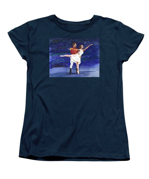 Clara's Nutcracker Women's T-Shirt (Standard Cut) by Clara Sue Beym