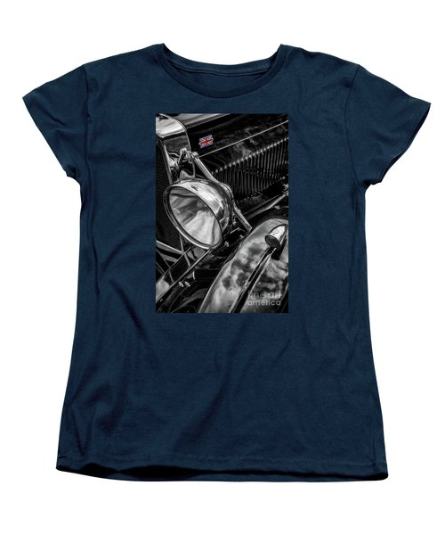 Women's T-Shirt (Standard Cut) featuring the photograph Classic Britsh Mg by Adrian Evans