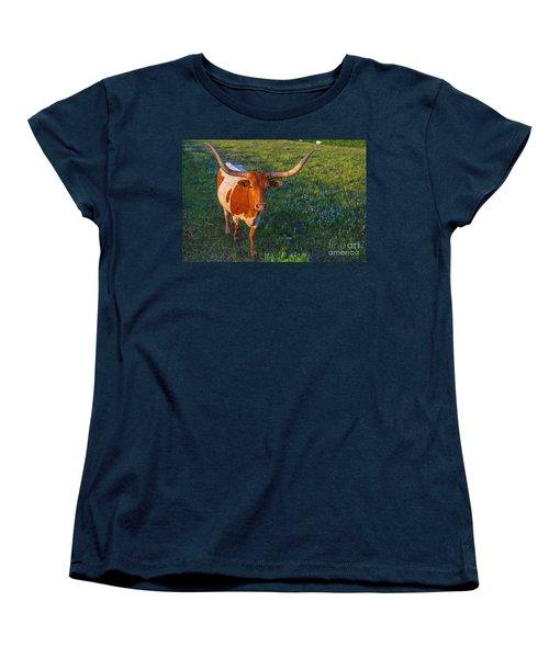 Classic Spring Scene In Texas Women's T-Shirt (Standard Cut) by Gary Holmes