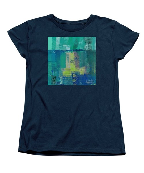 Women's T-Shirt (Standard Cut) featuring the digital art Classico - S03c04 by Variance Collections