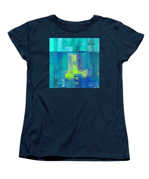 Women's T-Shirt (Standard Cut) featuring the digital art Classico - S03c26 by Variance Collections
