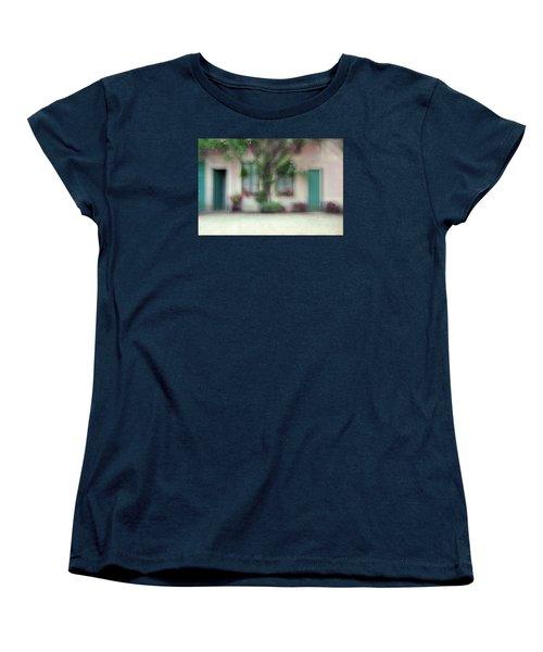 Women's T-Shirt (Standard Cut) featuring the photograph At Claude Monet's Neighborhood by Dubi Roman