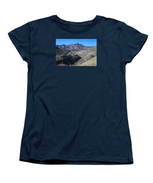 Clear And Rugged Women's T-Shirt (Standard Cut) by Gary Kaylor