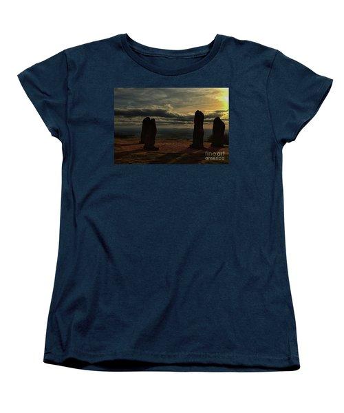 Clent Hills Folly Women's T-Shirt (Standard Cut) by Baggieoldboy