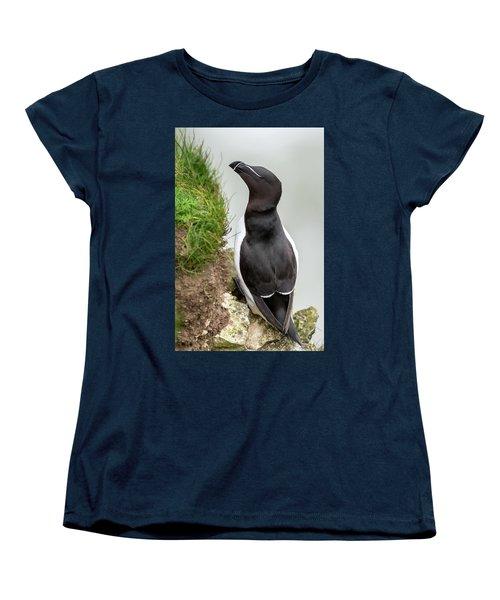 Cliff Edge 1 Women's T-Shirt (Standard Cut) by Nigel Wooding