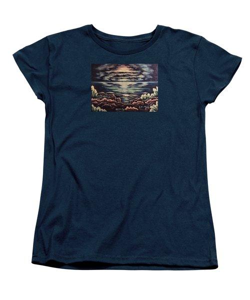 Cliffside Women's T-Shirt (Standard Cut) by Cheryl Pettigrew