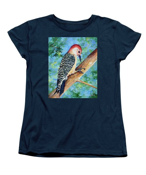Climbing Women's T-Shirt (Standard Cut) by AnnaJo Vahle