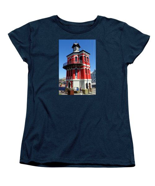 Clock Tower Cape Town Women's T-Shirt (Standard Cut) by John Potts