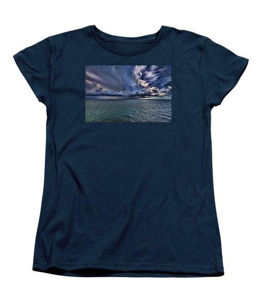 Cloudburst Women's T-Shirt (Standard Cut) by Douglas Barnard