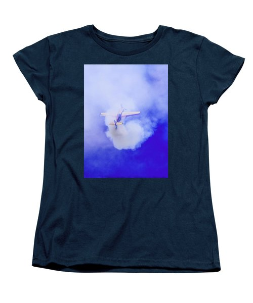 Women's T-Shirt (Standard Cut) featuring the photograph Cloudmaster by Michael Nowotny