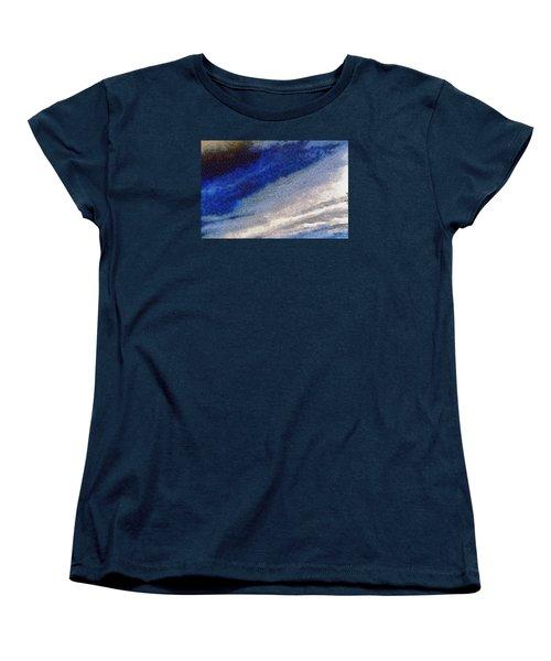 Women's T-Shirt (Standard Cut) featuring the photograph Clouds 10 by Spyder Webb