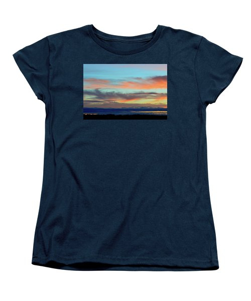 Clouds At Different Altitudes  Women's T-Shirt (Standard Cut) by Lyle Crump