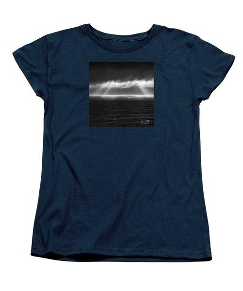 Cloudy Day At The Sae Women's T-Shirt (Standard Cut) by Gunnar Orn Arnason