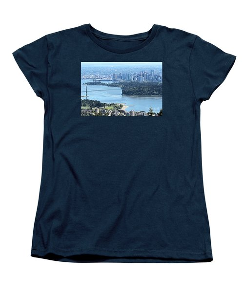 Coal Harbour Women's T-Shirt (Standard Cut) by Victor K