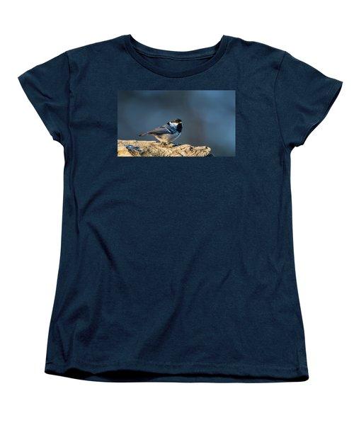 Women's T-Shirt (Standard Cut) featuring the photograph Coal Tit's Colors by Torbjorn Swenelius