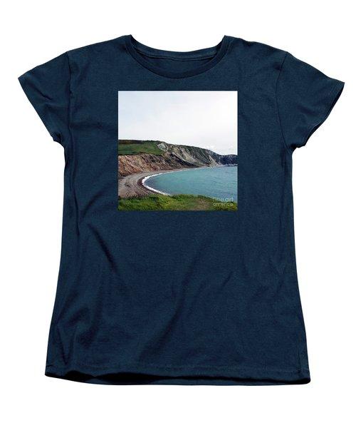 Coastal Arch Women's T-Shirt (Standard Cut) by Sebastian Mathews Szewczyk