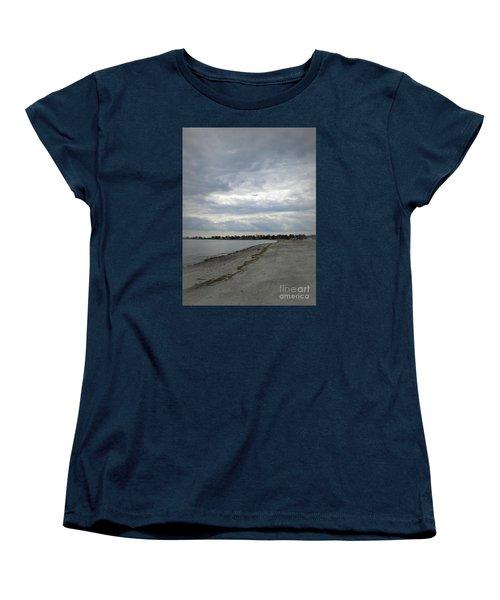 Coastal Winter Women's T-Shirt (Standard Cut) by Kristine Nora