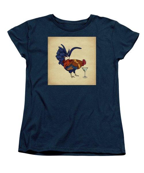 Cocktails Women's T-Shirt (Standard Cut) by Meg Shearer