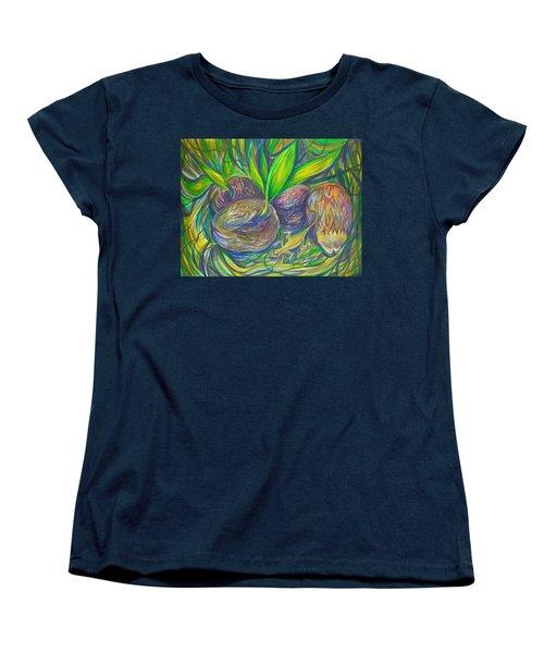 Coconuts Women's T-Shirt (Standard Cut) by Anna  Duyunova