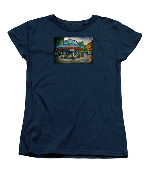 Coffee Caffeine High At 7,000 Feet Women's T-Shirt (Standard Cut) by Sam Antonio Photography