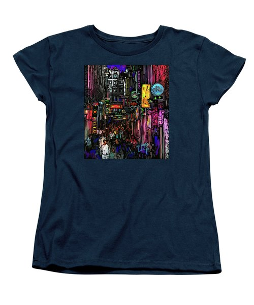 Coffee Shop, Amsterdam Women's T-Shirt (Standard Cut) by DC Langer