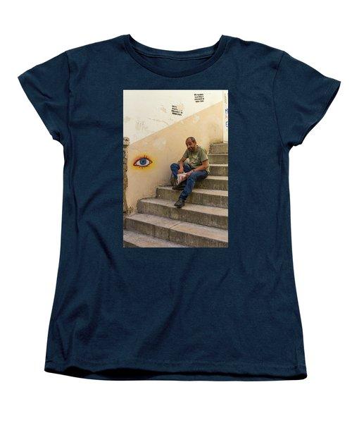 Coimbra  Local  Women's T-Shirt (Standard Cut) by Patricia Schaefer