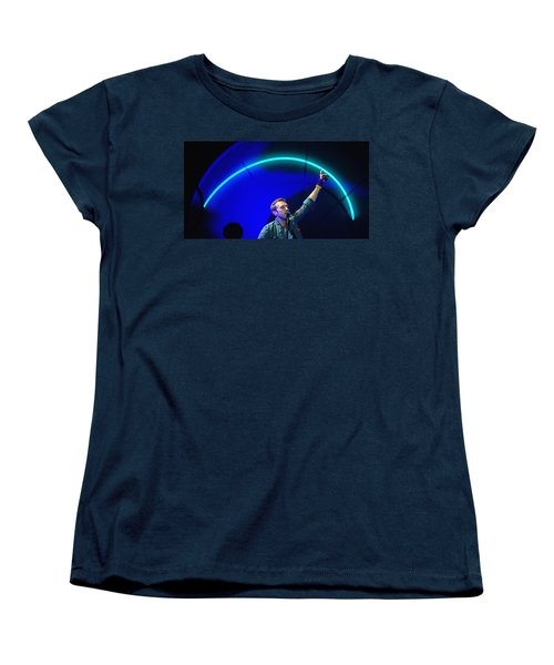 Coldplay3 Women's T-Shirt (Standard Cut) by Rafa Rivas