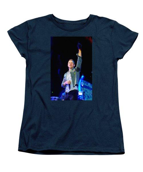 Coldplay8 Women's T-Shirt (Standard Cut) by Rafa Rivas