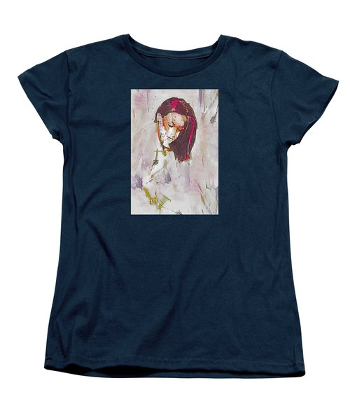 Women's T-Shirt (Standard Cut) featuring the digital art Collections by Galen Valle