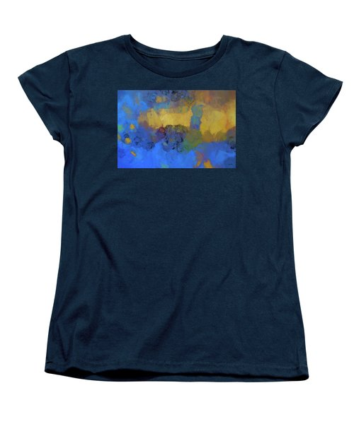 Color Abstraction Lviii Women's T-Shirt (Standard Cut) by David Gordon