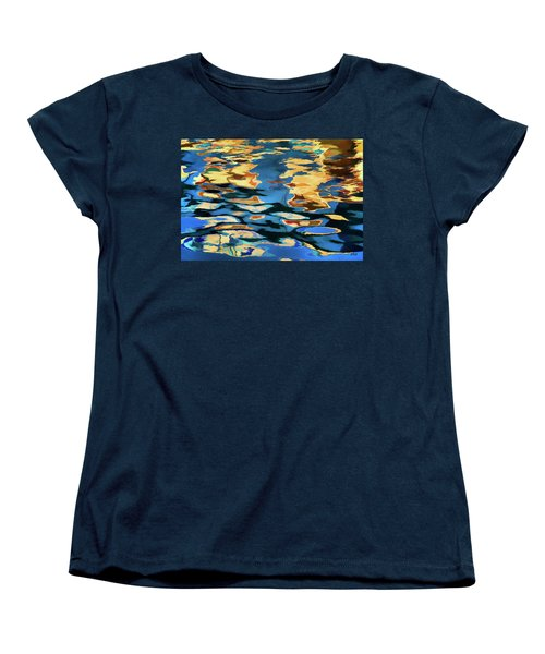 Women's T-Shirt (Standard Cut) featuring the photograph Color Abstraction Lxix by David Gordon