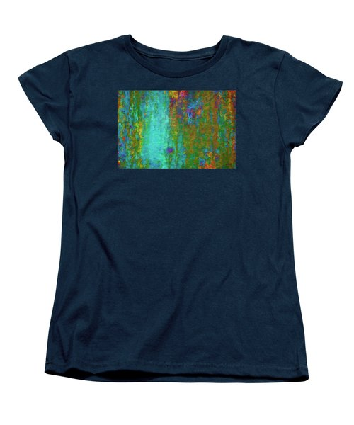 Women's T-Shirt (Standard Cut) featuring the photograph Color Abstraction Lxvii by David Gordon