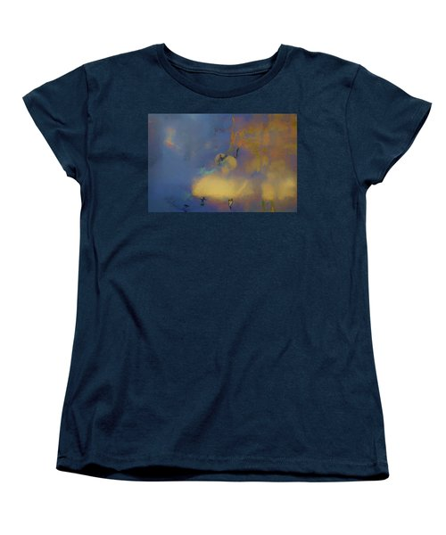 Women's T-Shirt (Standard Cut) featuring the photograph Color Abstraction Lxviii by David Gordon