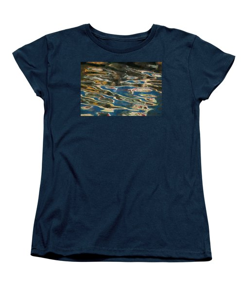 Women's T-Shirt (Standard Cut) featuring the photograph Color Abstraction Lxxv by David Gordon