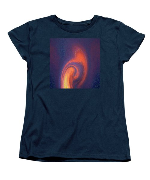 Women's T-Shirt (Standard Cut) featuring the digital art Color Abstraction Xlii by David Gordon