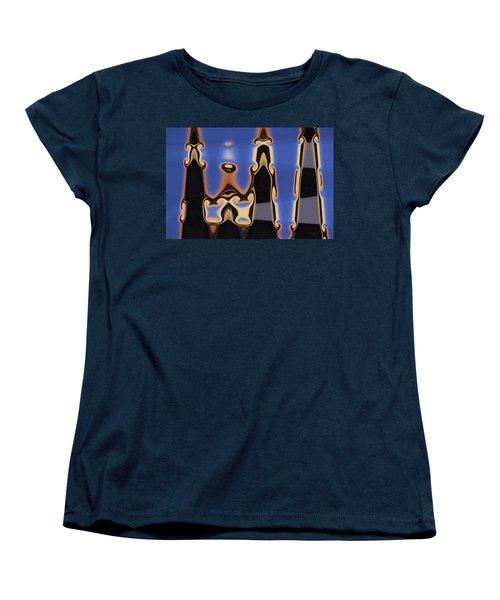 Color Abstraction Xliii Women's T-Shirt (Standard Cut)