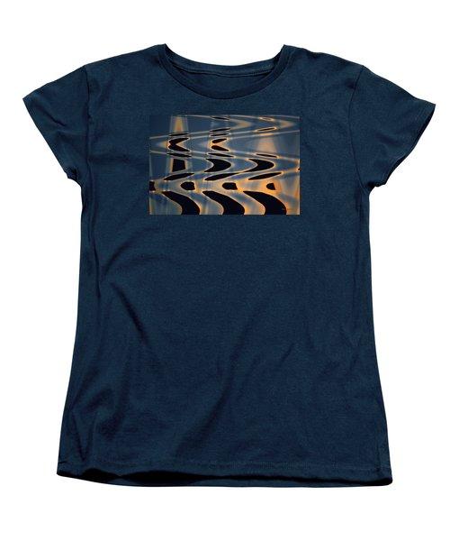 Color Abstraction Xxiv  Women's T-Shirt (Standard Cut) by David Gordon
