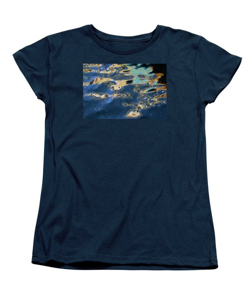 Women's T-Shirt (Standard Cut) featuring the photograph Color Abstraction Xxxvii - Painterly by David Gordon