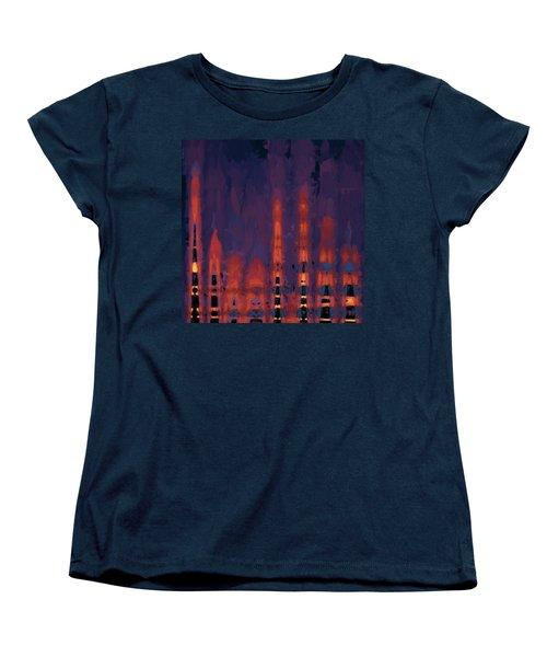 Color Abstraction Xxxviii Women's T-Shirt (Standard Cut)