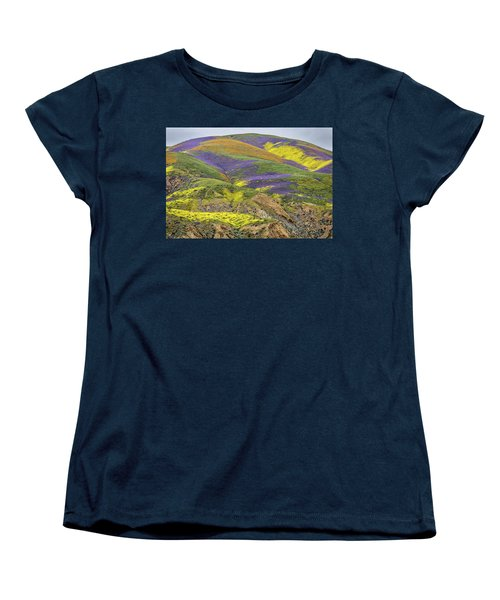 Women's T-Shirt (Standard Cut) featuring the photograph Color Mountain II by Peter Tellone
