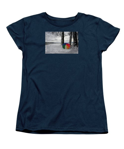 Color To The Melancholy Women's T-Shirt (Standard Cut) by Randi Grace Nilsberg